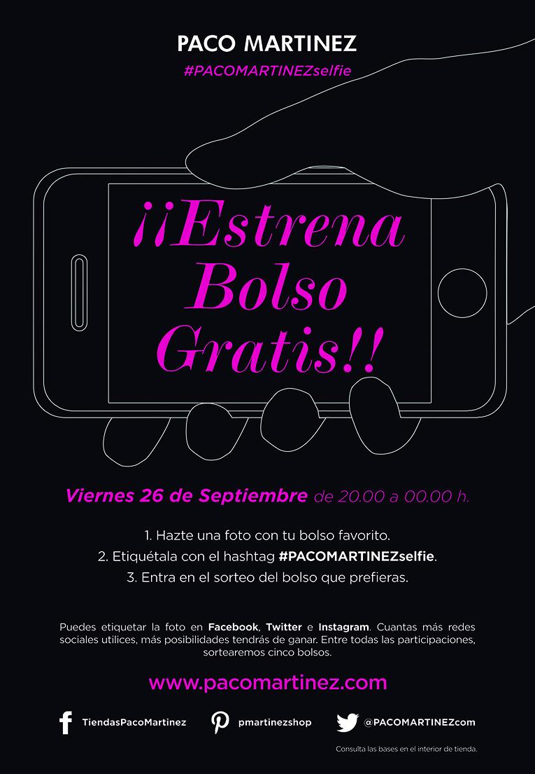 Estrena bolso gratis!! Pacomartinezselfie