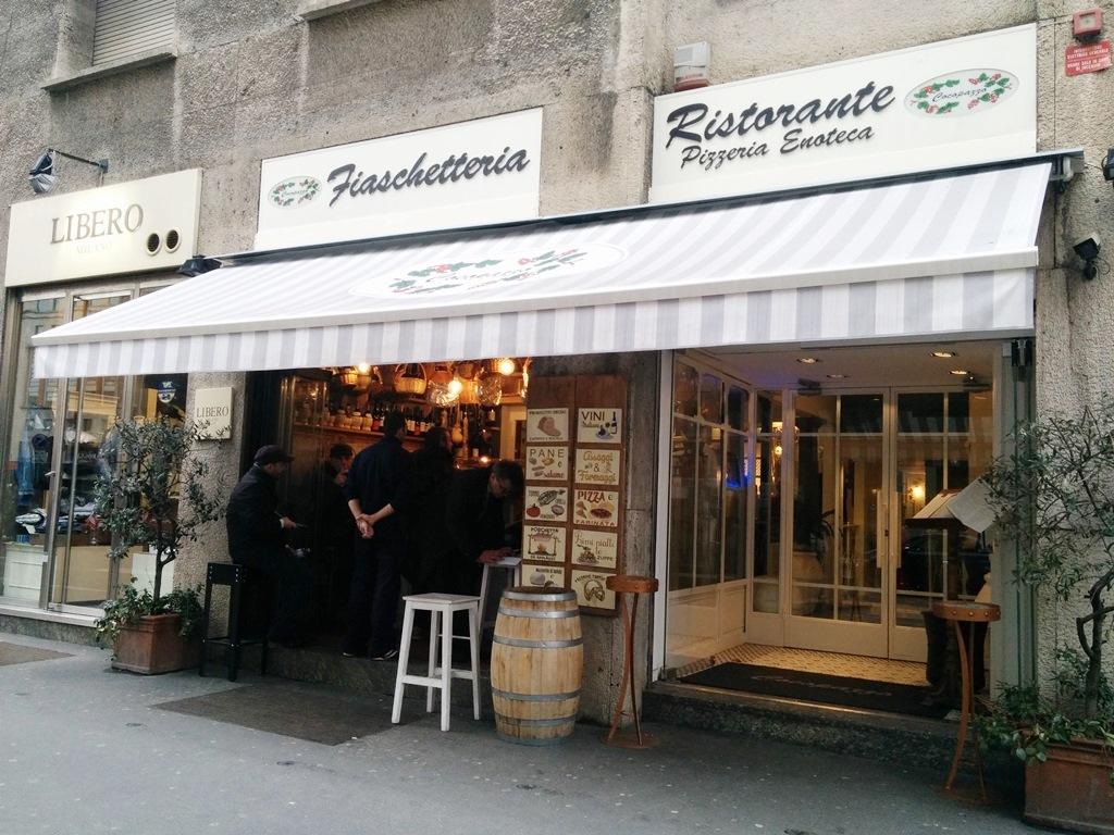 restaurante trattoria durini milan