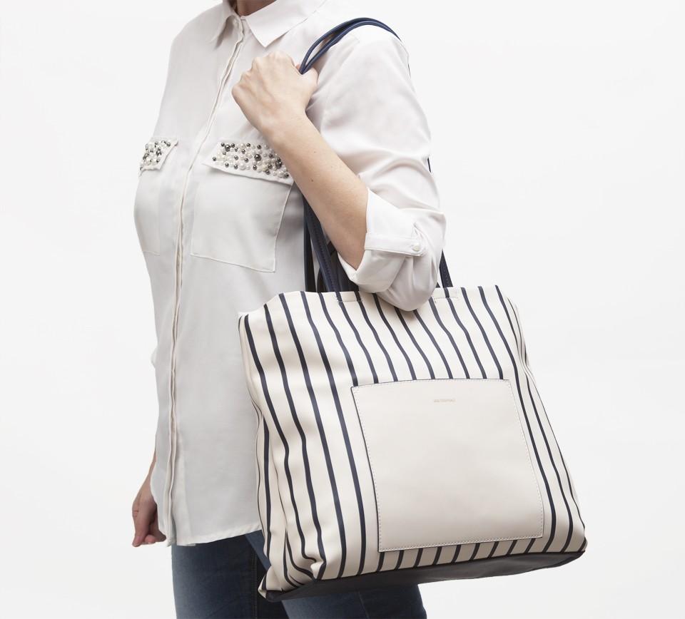 shopper rayas marineras idea regalo dia de la madre bolso paco martinez