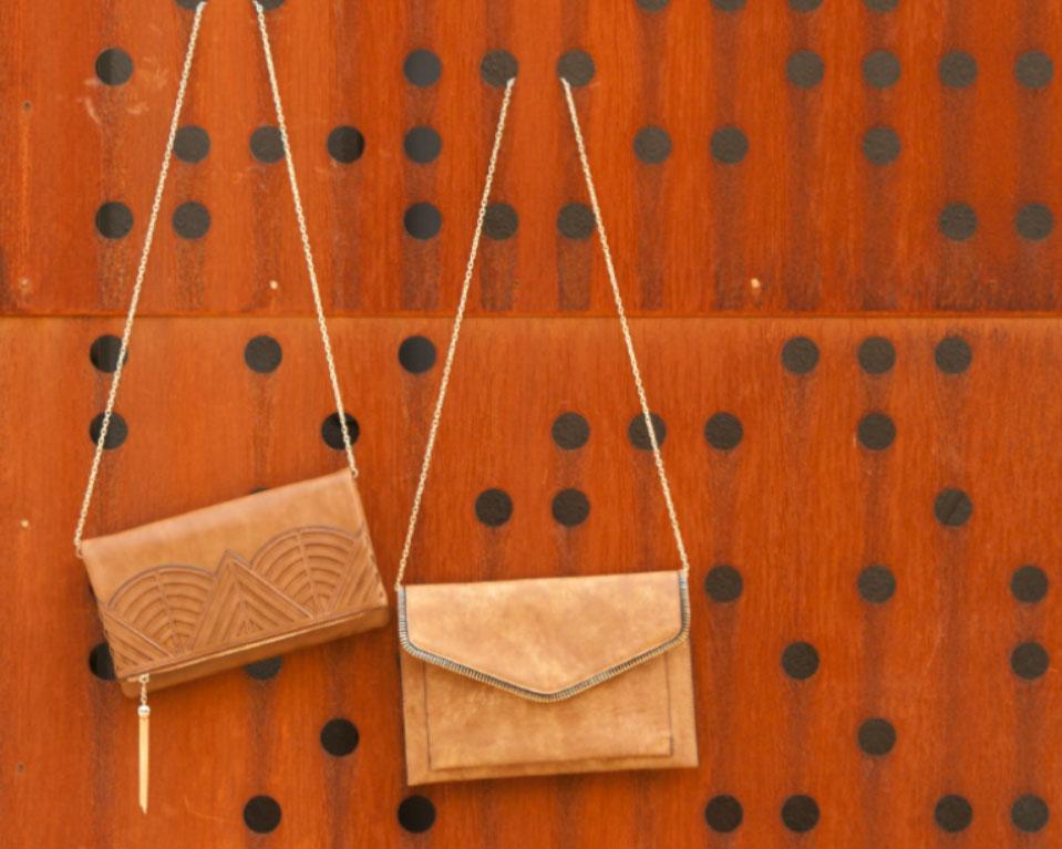 bolsos de mano troquelados paco martinez