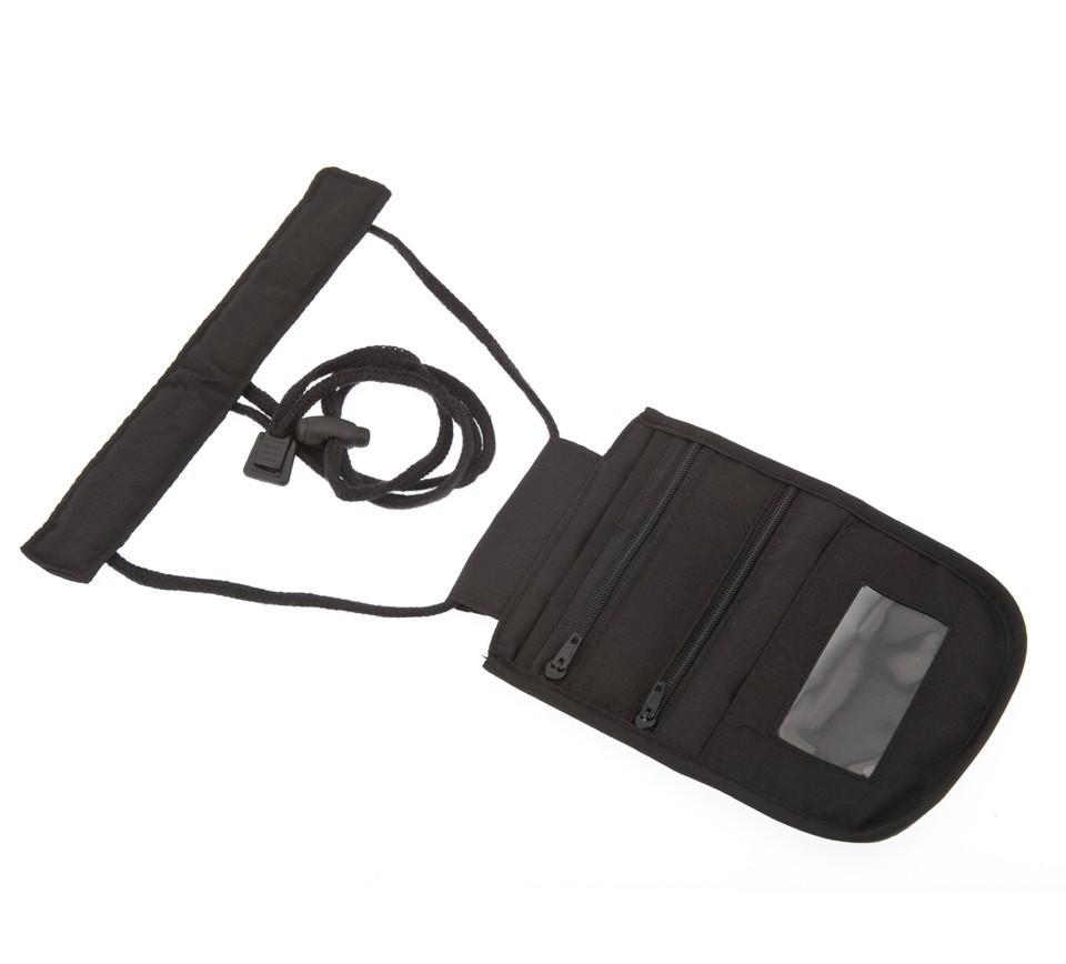 bolsillo colgante de pvc accesorios para viajar seguros