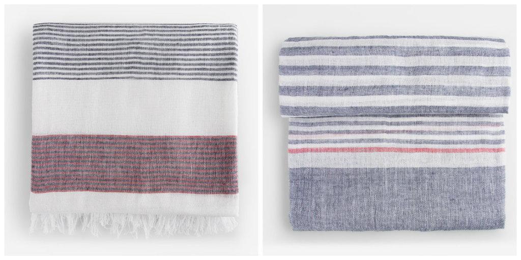 pañuelos pacomartinez pareo lino rayas toalla turca