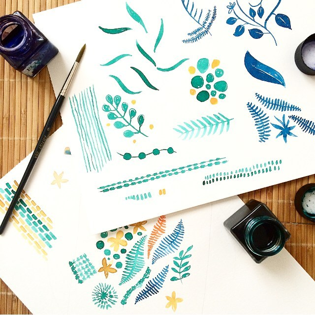 ilustracion-naturaleza-acuarela-nathalie-ouederni-paco-martinez-maletas-print-moda